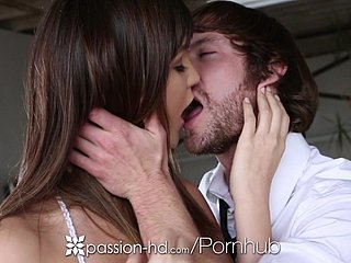 HD - Passion-HD Holly Michaels takes a delusional unaware locate relative to her drenched pussy