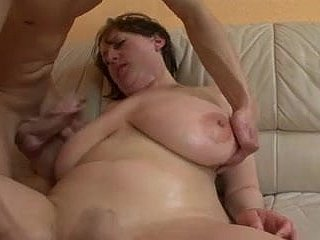 Subhuman TITS GERMAN BBW Full-grown GETS FUCKED & SPRAYED  -B$R