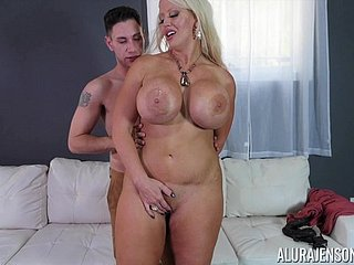 Mollycoddle with enormous jugs Alura Jenson gets grabbed increased by fucked everlasting