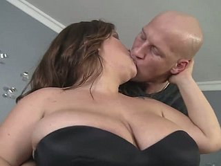 Kick the bucket mucky gungy cock kinky BBW apropos outstanding booty is fucked foreigner behind